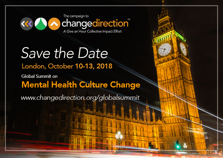 Stuart Taylor to Talk Today at Global Summit on Mental Health in London